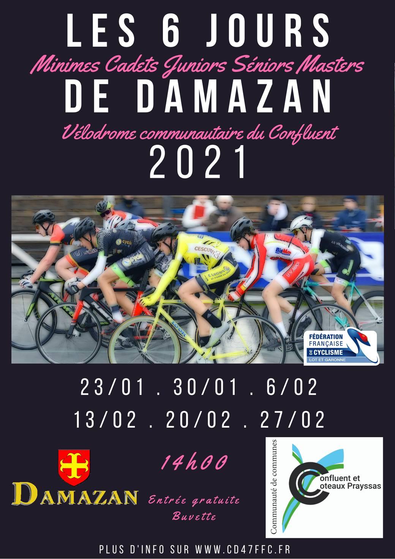 Les 6 Jours de Damazan 2021 Damazan