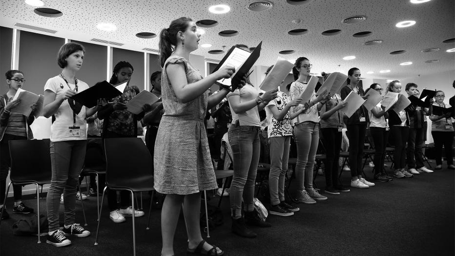 MAÎTRISE : Chansons/Poulenc (HORS LES MURS) Auditorium Angèle et Roger Tribouilloy Bondy