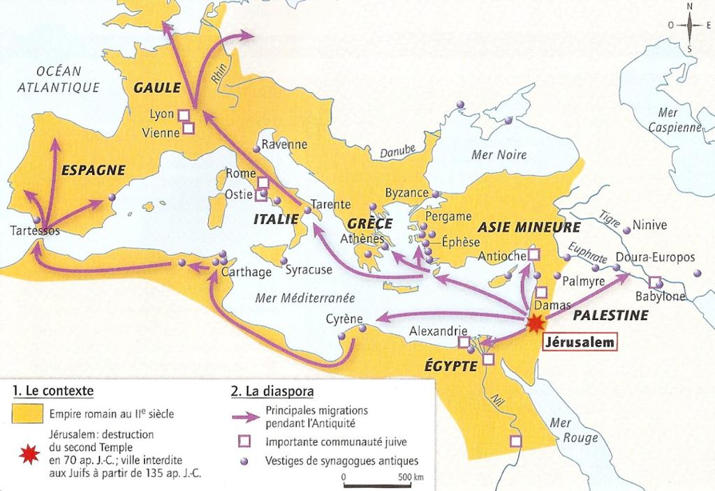 Diaspora juive empire romain