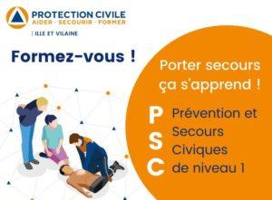 Formation PSC1 (Prévention Secours Civiques de niveau 1) Protection Civile de Rennes Rennes