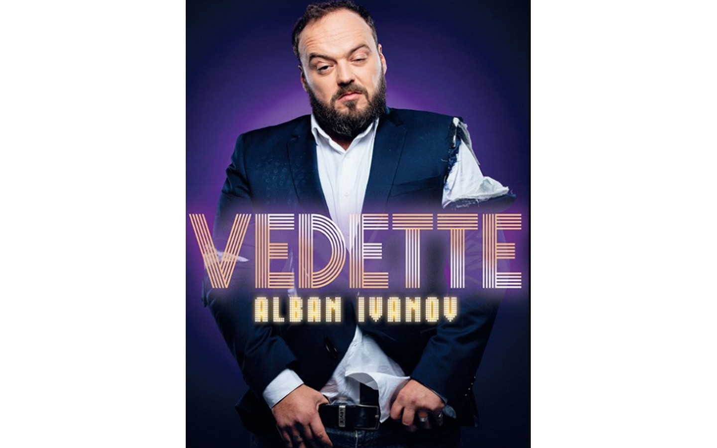 Report – Spectacle : Alban Ivanov – Vedette