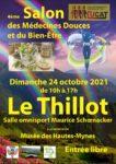 4ÈME SALON DES MÉDECINES DOUCES ET DU BIEN-ÊTRE Le Thillot   2021-10-24