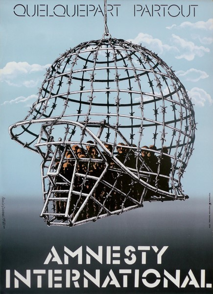 Amnesty International affiche Alain Le Quernec