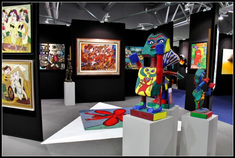 art3f salon de l'art contemporain Mulhouse