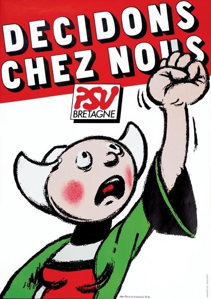 Bécassine Alain Le Quernec Décidons chez nous Bretagne PSU