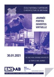 Journée portes ouvertes virtuelle - ENSA Bretagne ENSAB Rennes