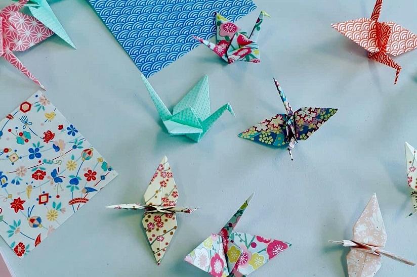Je crée des oiseaux en origami Sailly-Flibeaucourt