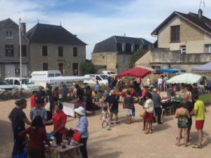 Marché d'Eté à Alvignac Alvignac