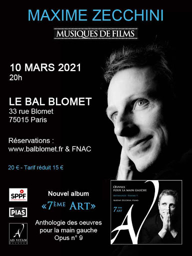 MAXIME ZECCHINI – 7e ART LE BAL BLOMET Paris
