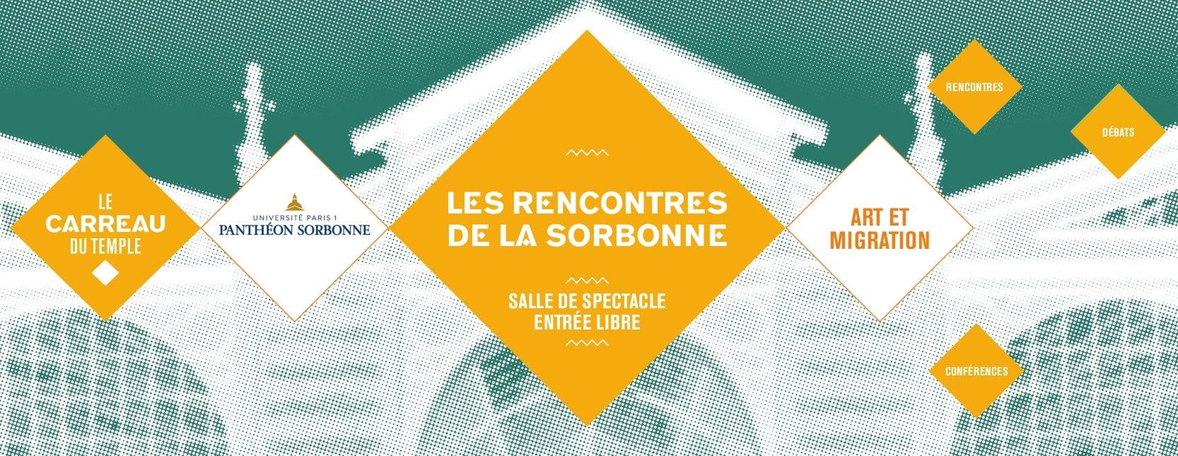 Quatrième Rencontre de la Sorbonne : Art et Migration En ligne Paris