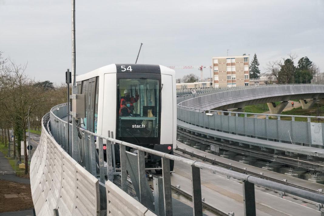 rennes metro b ligne