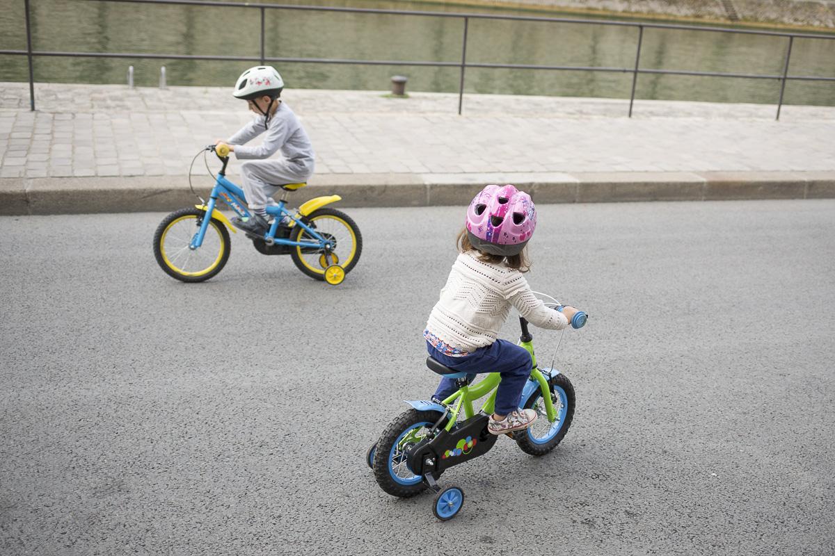 Stage de Vélo pour enfants AICV Paris