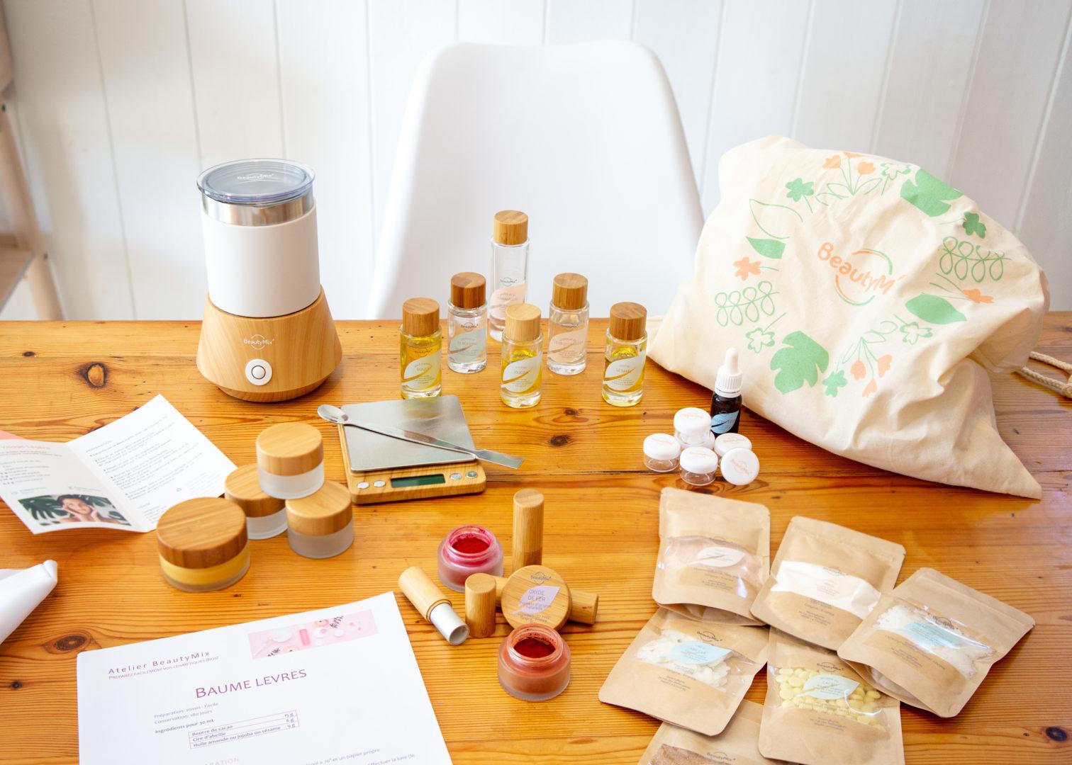 Atelier de création de cosmétiques Bio Biscarrosse