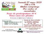 Atelier rempotage cactus et plantes grasses Beaumont-Village