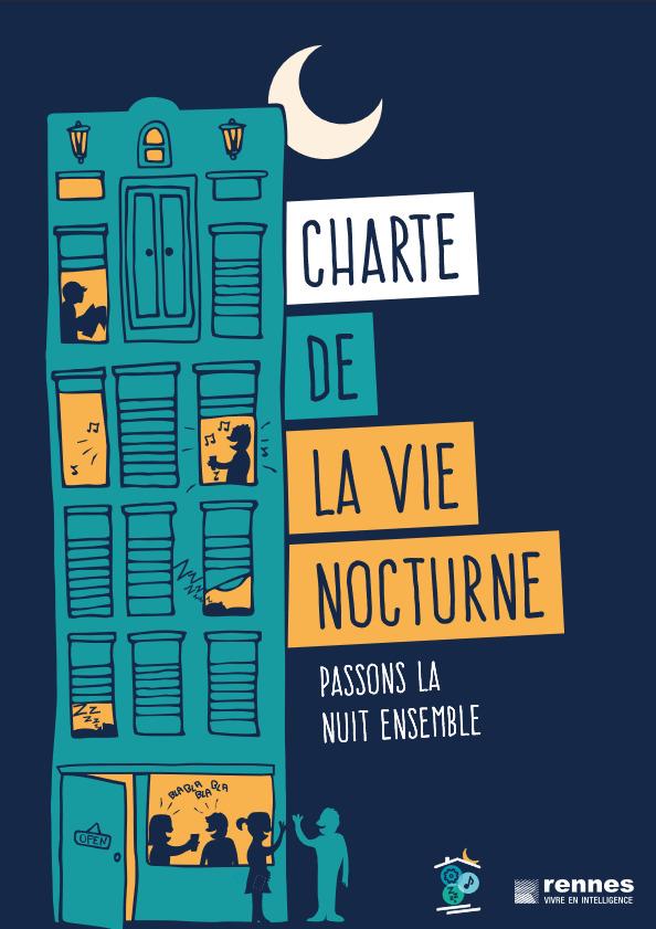 charte de la vie nocturne conseil de la nuit Rennes
