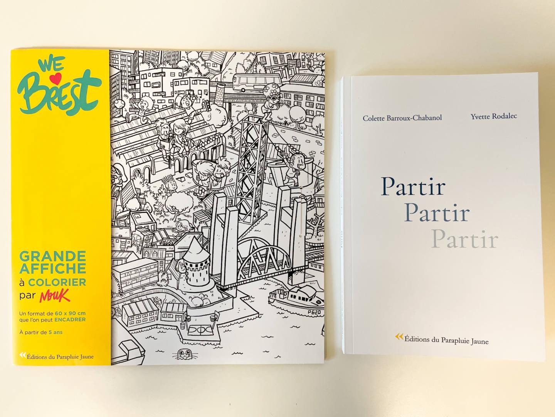 Editions du parapluie jaune Partir We love Brest