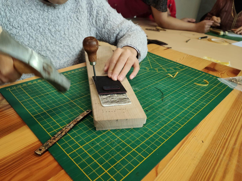 Fabrique ton porte-cartes en cuir végétal Châtillon-sur-Seine