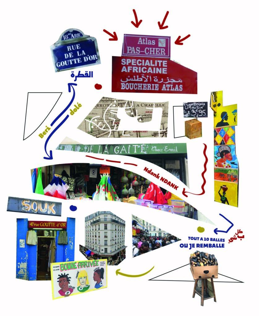 La carte des cinq sens avec Chimbo Institut des Cultures d'Islam - espace Léon Paris