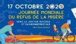 La Journée Mondiale du Refus de la Misère au Trocadéro Jardins du Trocadéro Paris