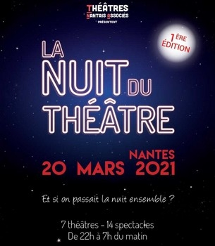 La Nuit du Théâtre - au Théâtre de la Rue de Belleville - ANNULÉ Théâtre Rue de Belleville