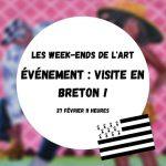 Visite commentée en breton par Thomas Godin au Comoedia Le Comoedia Espace d'Art Brest
