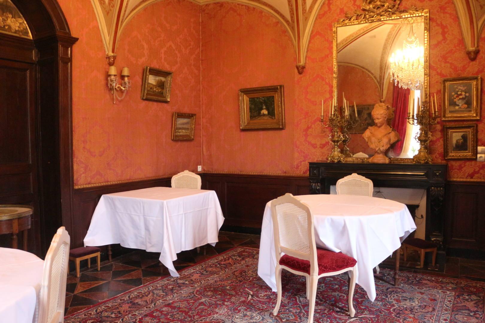 Reportage Château d'Apigné Salon Repas
