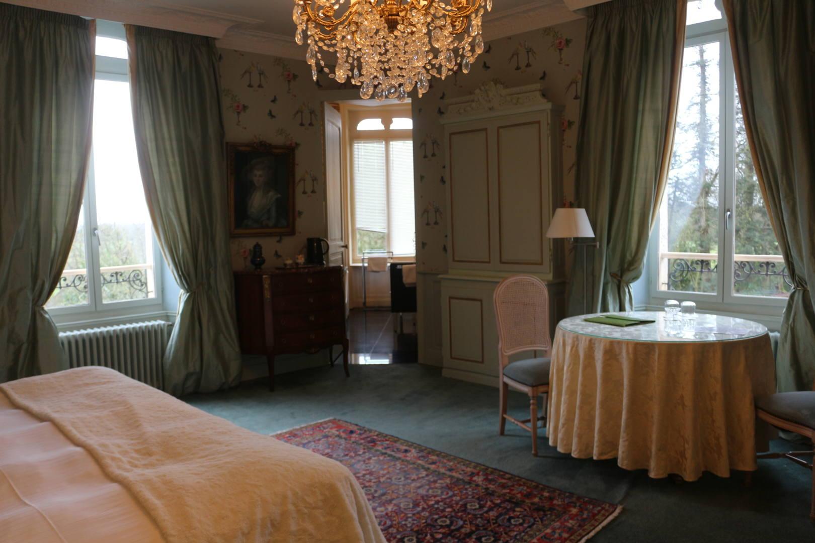 Château d'Apigné Vue Chambre