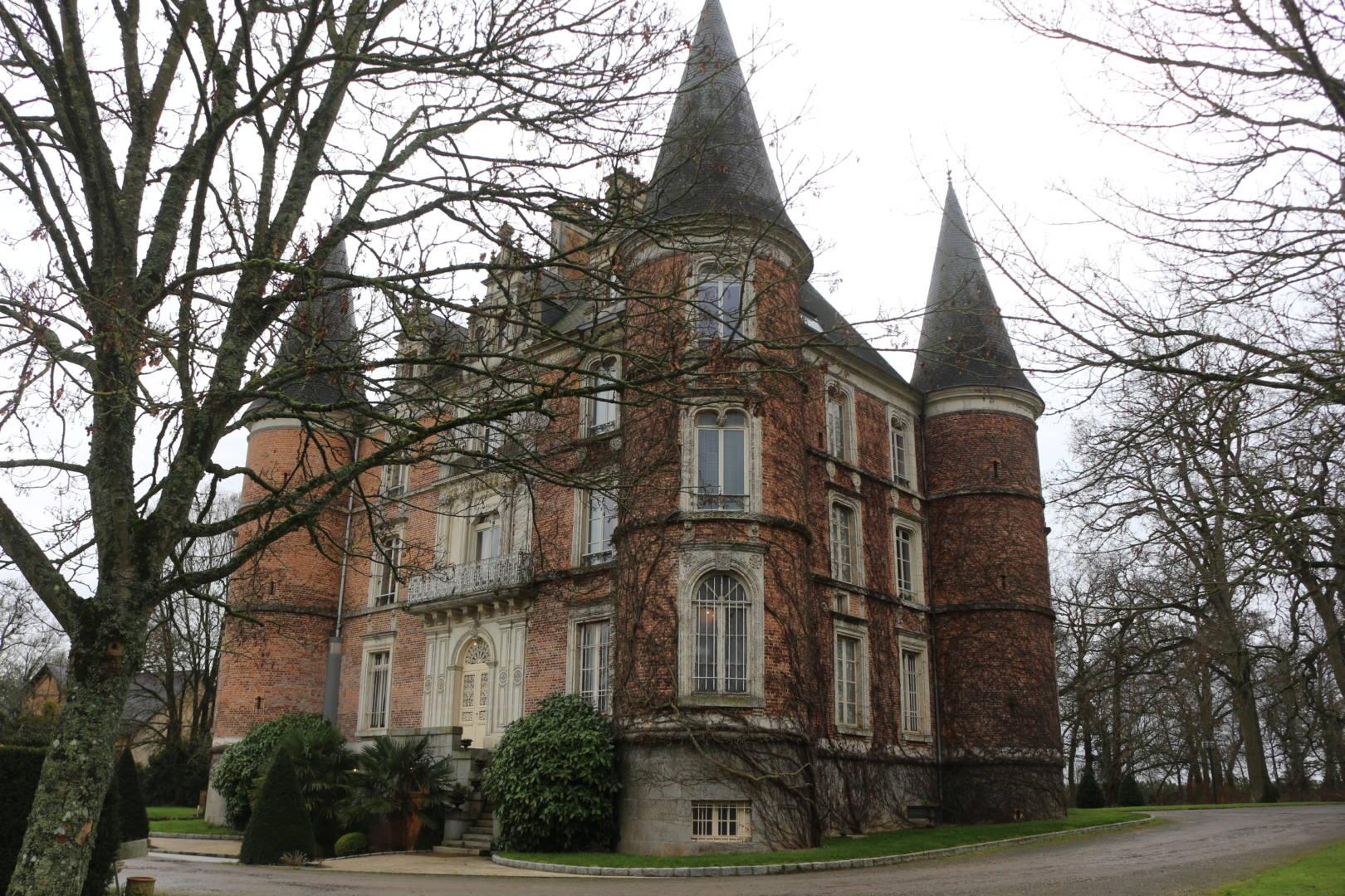 Château d'Apigné façade rennes