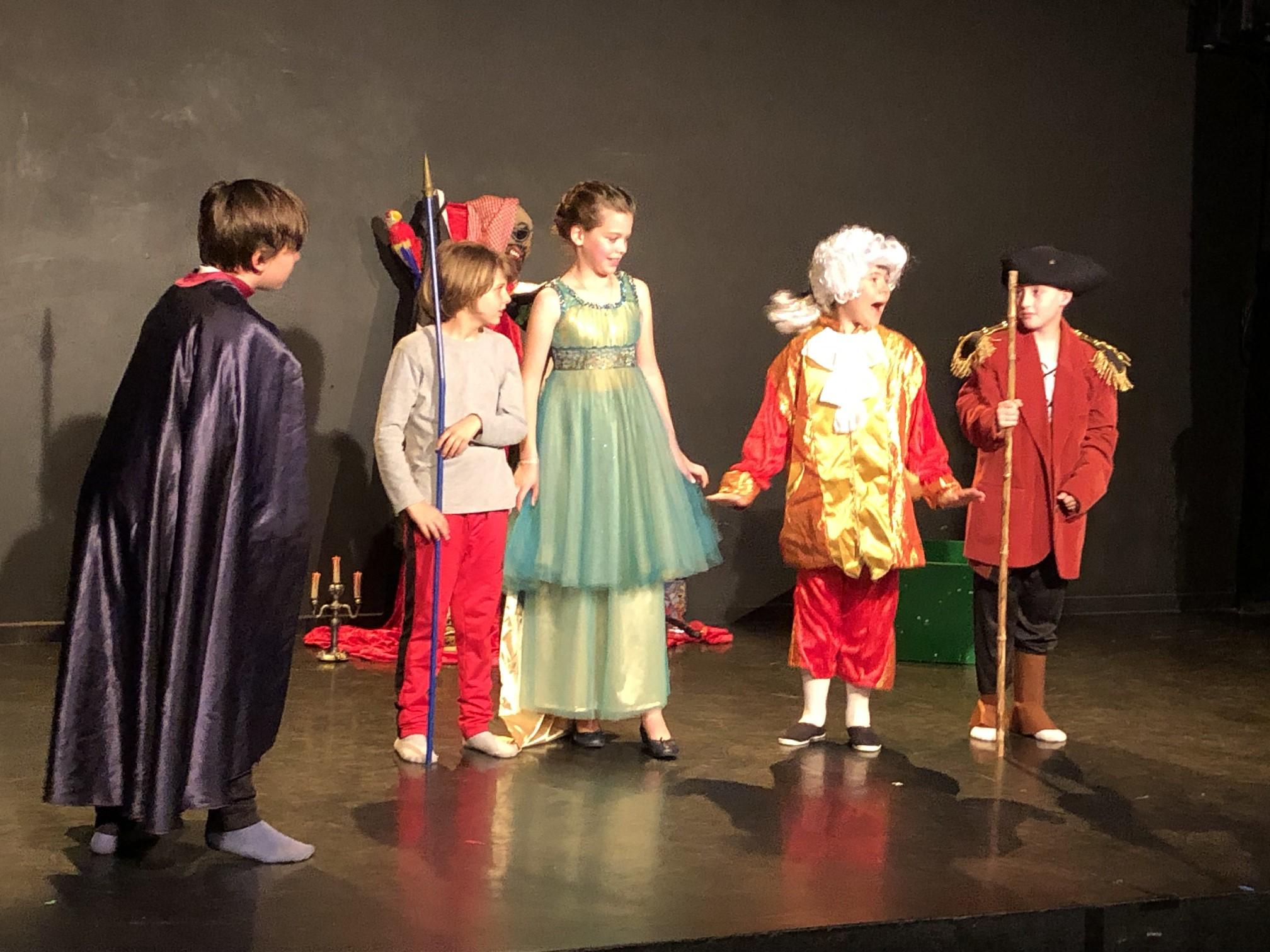 Stage de théâtre 8-14 ans - vacances d'avril 2021 A la Folie Théâtre Paris