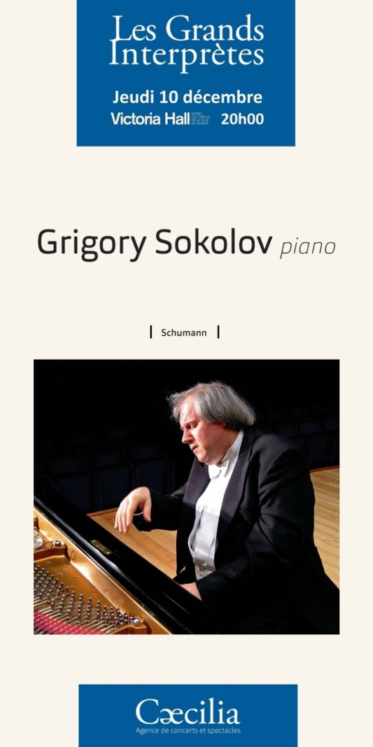 Grigory Sokolov Victoria Hall