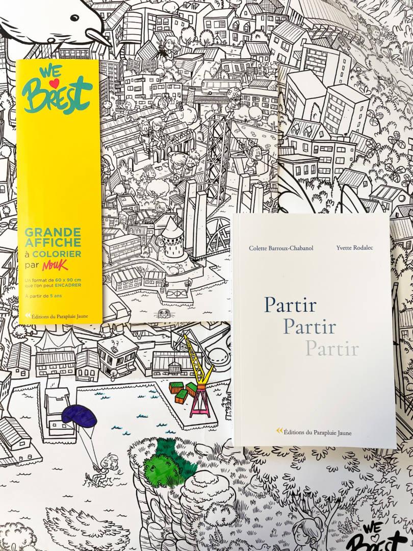 Editions du parapluie jaune librairie Dialogues Brest