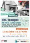 Atelier créatif - Construction de boîtes à lire Bidart