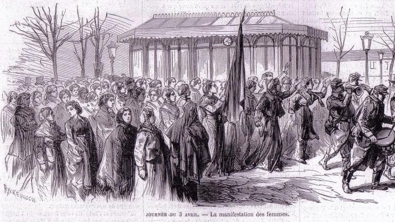Balade historique sur les traces de la Commune de Paris Médiathèque Françoise Sagan Paris