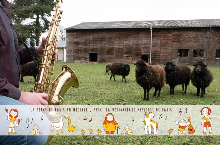 Conte-moi les animaux de la ferme Ferme de Paris Paris