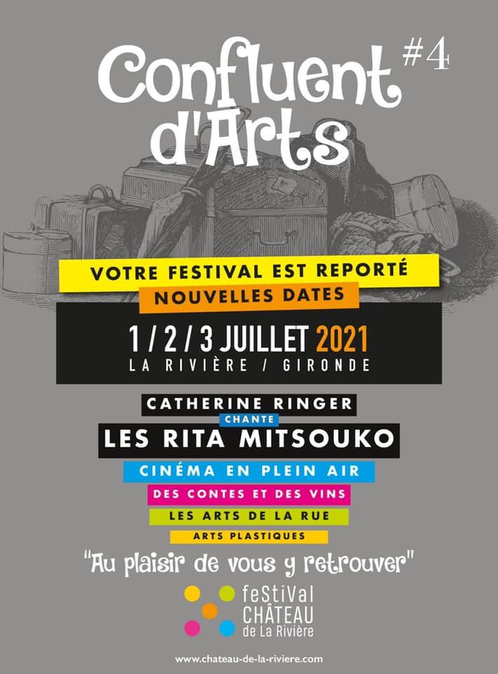 Festival Château de La Rivière Confluent d'Arts La Rivière
