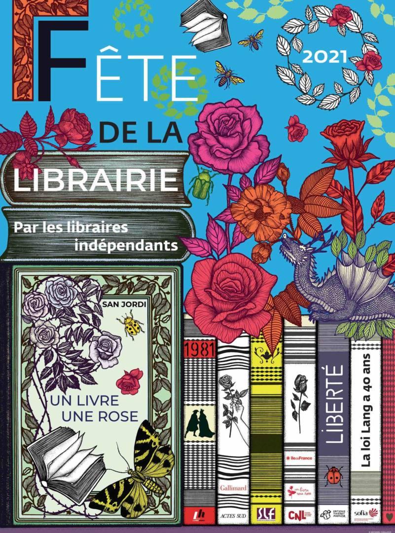 LA FÊTE DE LA LIBRAIRIE PAR LES LIBRAIRES INDÉPENDANTS SAMEDI 24 AVRIL
