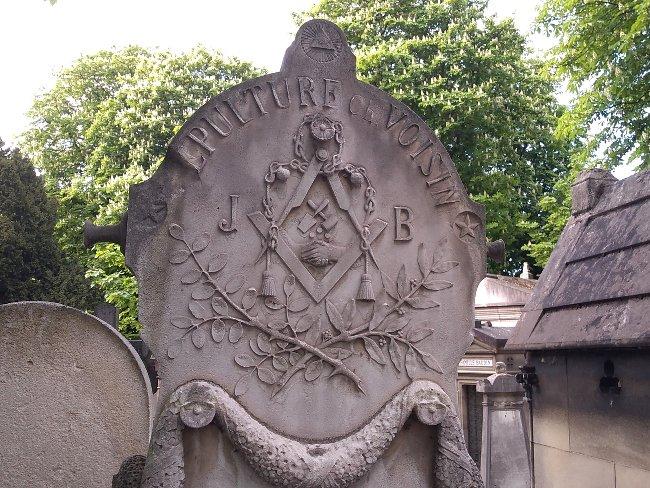 Le Père Lachaise des francs-maçons Cimetière du Père Lachaise Paris