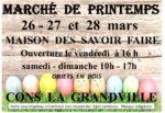 MARCHÉ DE PRINTEMPS Cons-la-Grandville