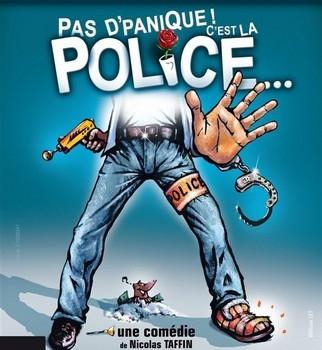 Pas d'panique ! C'est la Police... - ANNULÉ Théâtre de Jeanne
