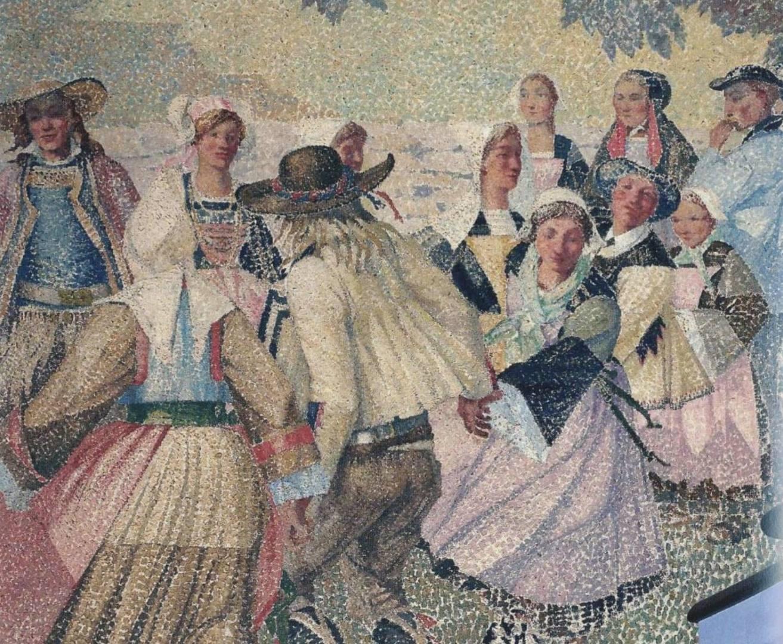Peinture murale Bretonnes