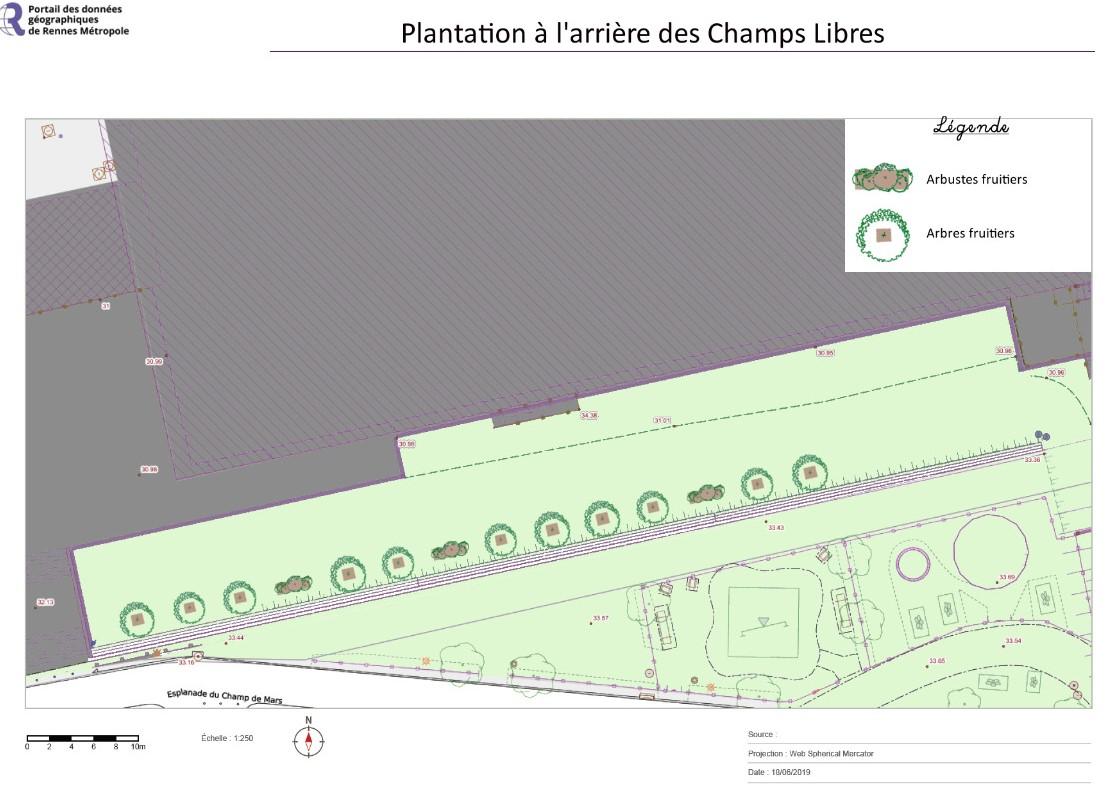 projet végétalisation arrière des champs libres rennes