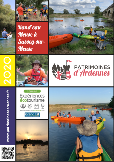 RAND'EAU MEUSE - CIRCUITS COMMENTÉS EN CANOË-KAYAK Sassey-sur-Meuse