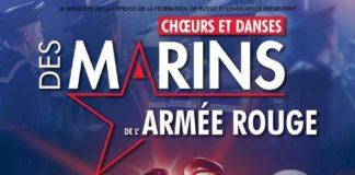 CHOEURS ET DANSES DES MARINS DE L'ARMEE ROUGE Théâtre Sebastopol Lille