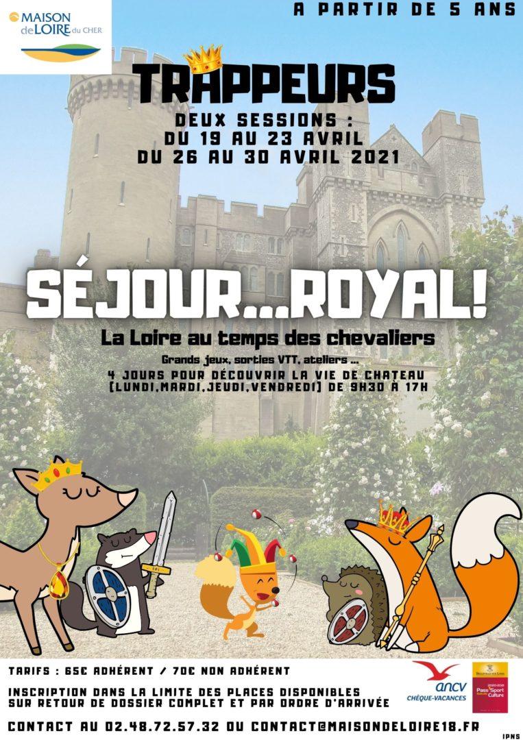 Séjours trappeurs : activités nature pour enfants Belleville-sur-Loire Cher