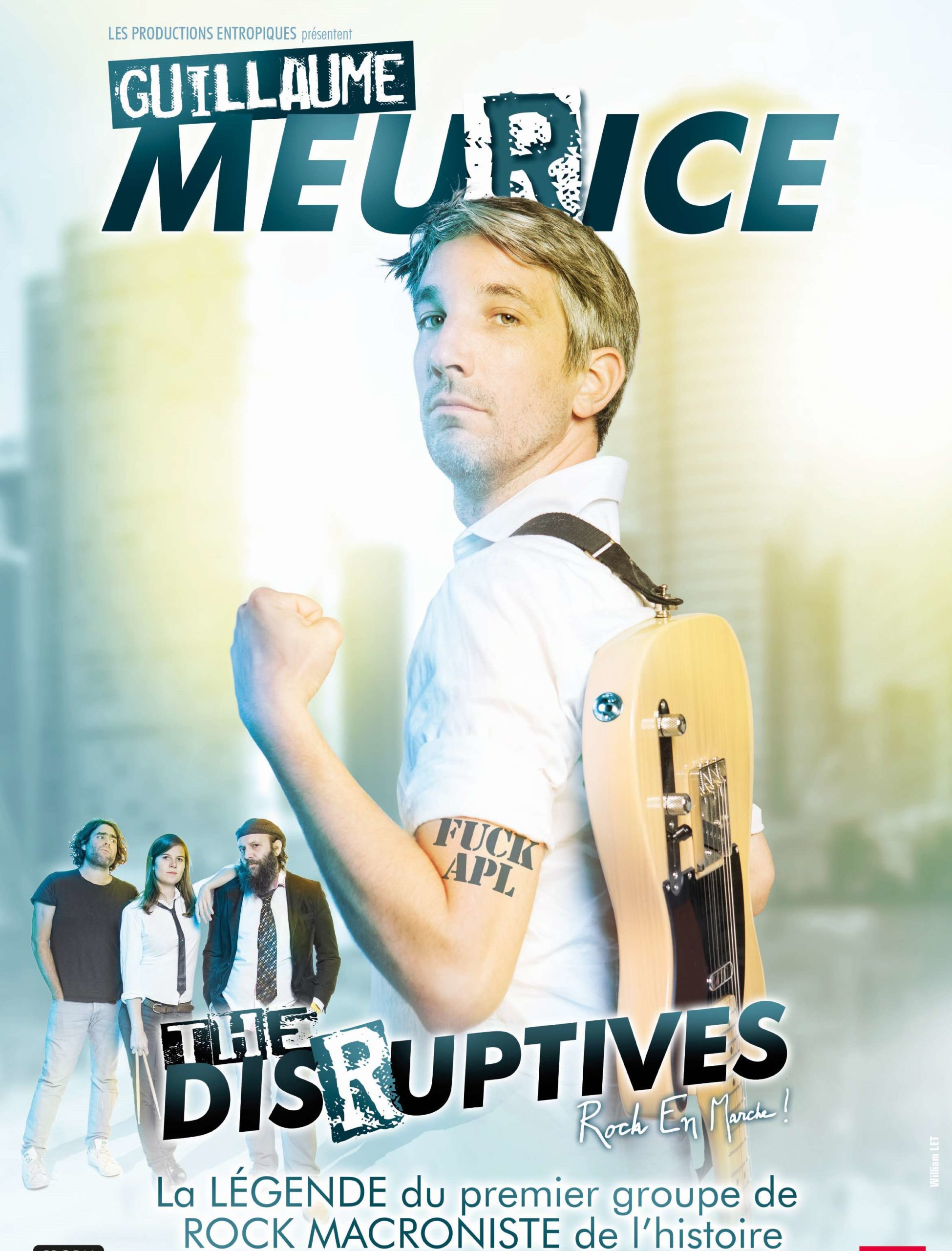 Spectacle : Guillaume Meurice & the Disruptives