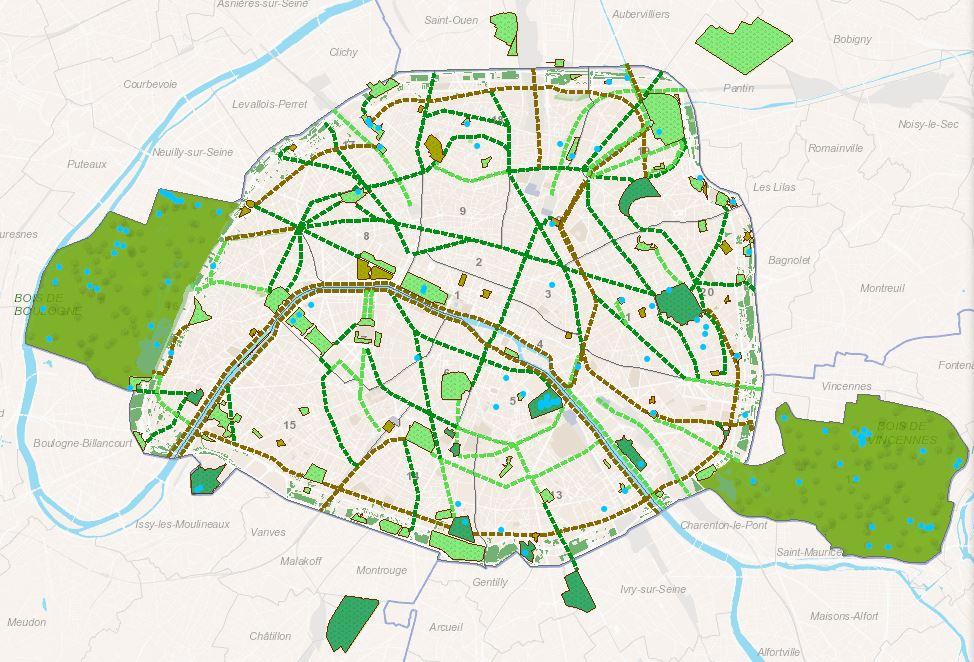Trames Vertes et Bleues : les Chemins de la Nature Maison Paris Nature Paris