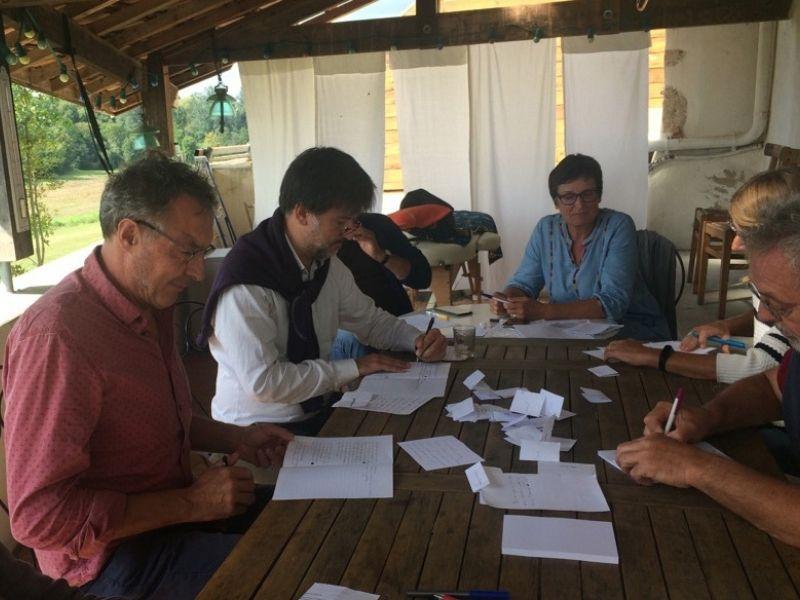 Ateliers d'écriture Saint-Laurent-du-Plan