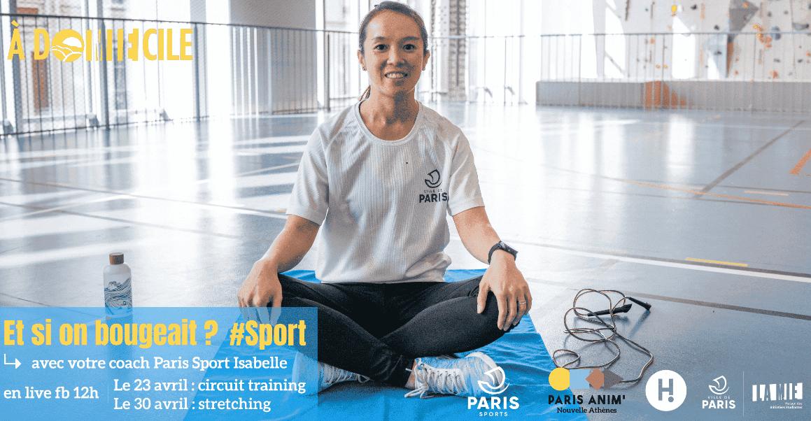 Bougez AdoMIEcile en partenariat avec Paris Sport Maison des Initiatives étudiantes (MIE) - Bastille Paris