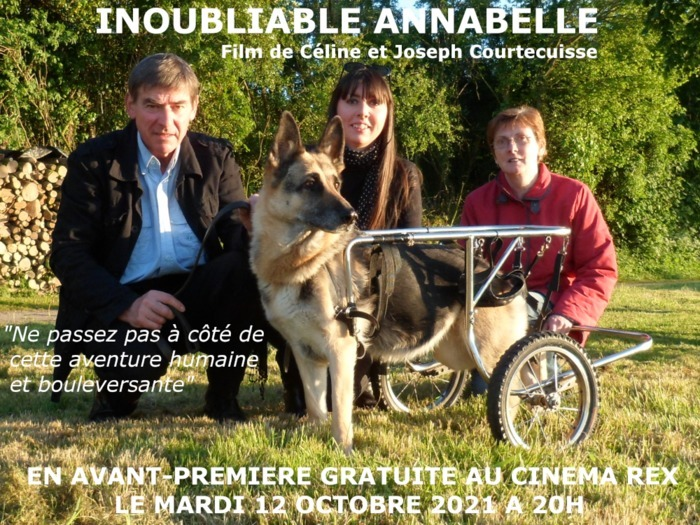 AVANT-PREMIERE DU FILM DOCUMENTAIRE INOUBLIABLE ANNABELLE CINEMA REX Abbeville