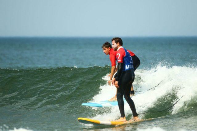 Cours de surf avec Maâ Surf School Moliets-et-Maa   2021-04-11